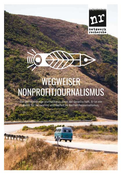 wegweiser nonprofitjournalismus