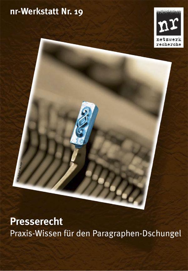nr-werkstatt-19-presserecht-Titelbild
