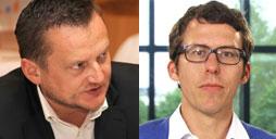 Leuchtturmpreisträger 2014: Uwe Ritzer und Bastian Obermayer