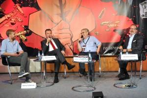 """nr-Jahreskonferenz Panel """"Im Visier der Meute"""""""