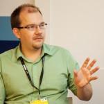 Gábor Polyák, Gründer des Think Tank Mertek Media Monitor; Foto: Stahlke