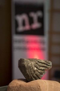 Die verschlossene Auster ging dieses Jahr an Heckler & Koch. Foto: Raphael Hünerfauth