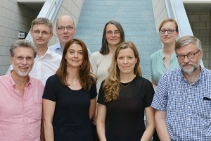 Bernd Kastner, Markus Grill, Renate Daum, Christina Elmer, Gert Monheim, Cordula Meyer, Julia Stein und Egmont Koch. Foto: Wulf Rohwedder