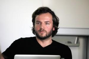 Julius Tröger, Datenjournalist bei der Berliner Morgenpost. Foto: Franziska Senkel