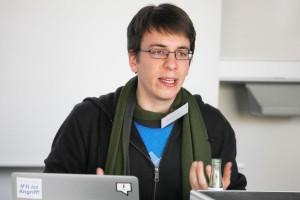 Seit 2014 ist Stefan Wehrmeyer Datenjournalist bei CORRECT!V. Foto: Franziska Senkel