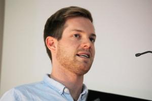 Timo Grossenbacher ist Datenjournalist bei SRF Data. Foto: Franziska Senkel