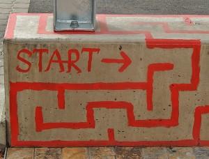 Den Weg durchs Datenjournalismus-Labyrinth finden? Diese Tipps helfen dabei. Foto: Michael Coghlan/Flickr