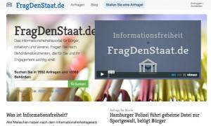 Das Portal fragdenstaat.de soll Anfragen nach Behördendokumenten erleichtern.