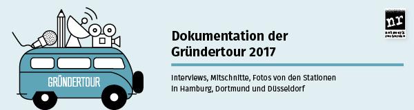 Dokumentation der Gründertour 2017