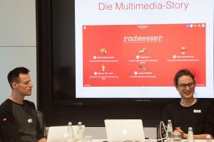 Andreas Baum und Michael Gegg (Tagesspiegel)