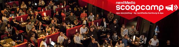 Das scoopcamp ist die Innovationskonferenz für Medien und findet am 25. September 2019 im Theater Kehrwieder in Hamburg statt. Auf der offiziellen Website sind noch Tickets verfügbar: https://www.scoopcamp.de/tickets/