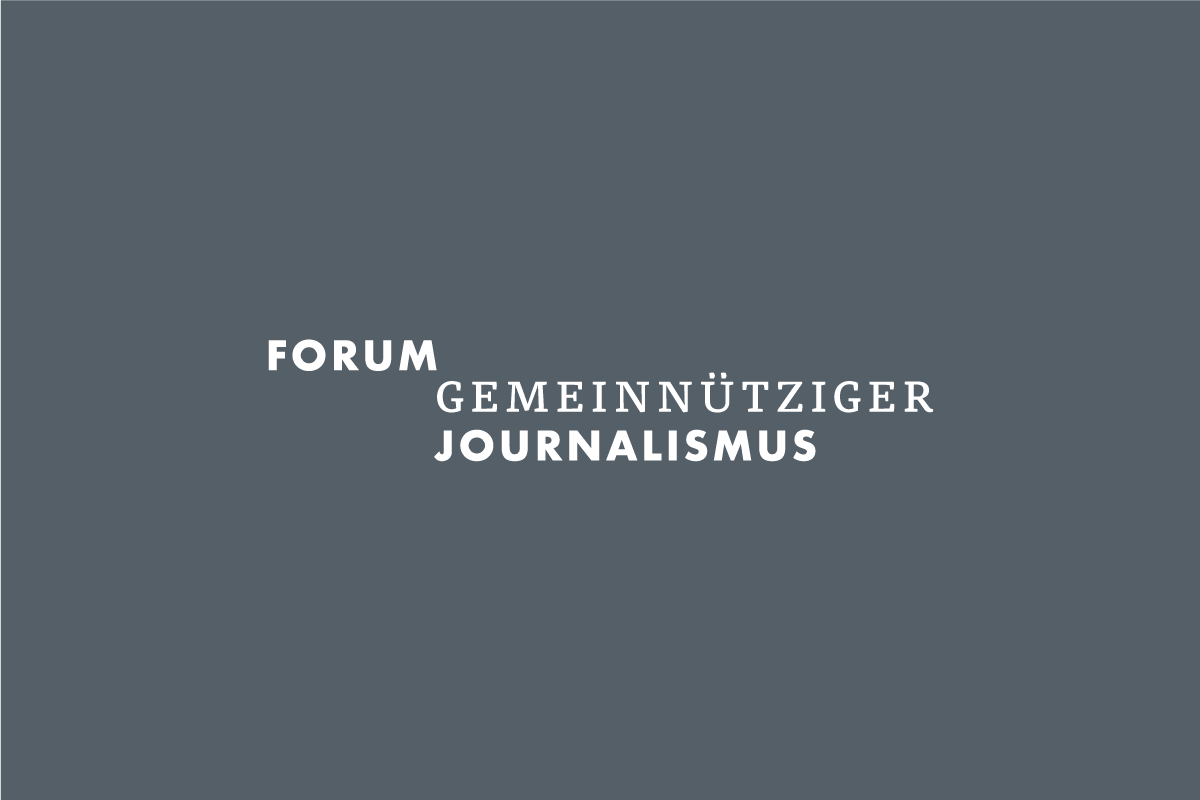 Logo Forum Gemeinnütziger Journalismus