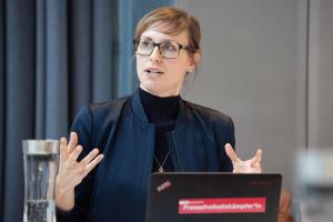 """Christine Liehr von der Thomson Foundation rät: """"Der Geldgeber sollte zum Projekt passen, nicht andersherum."""""""