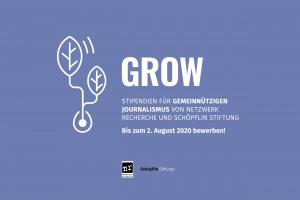 Ausschreibung Grow-Stipendium
